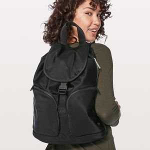 Lululemon Black Pack It Up Ruck Sack